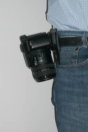 Gürtelhalter für Kameras