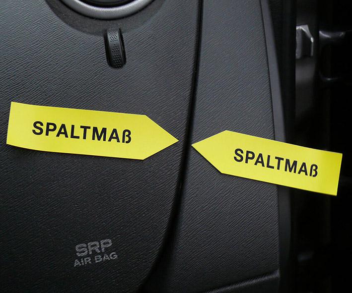 "Haftpfeile gelb/rot, 100 mm, ""Sortiment SP-ß"""