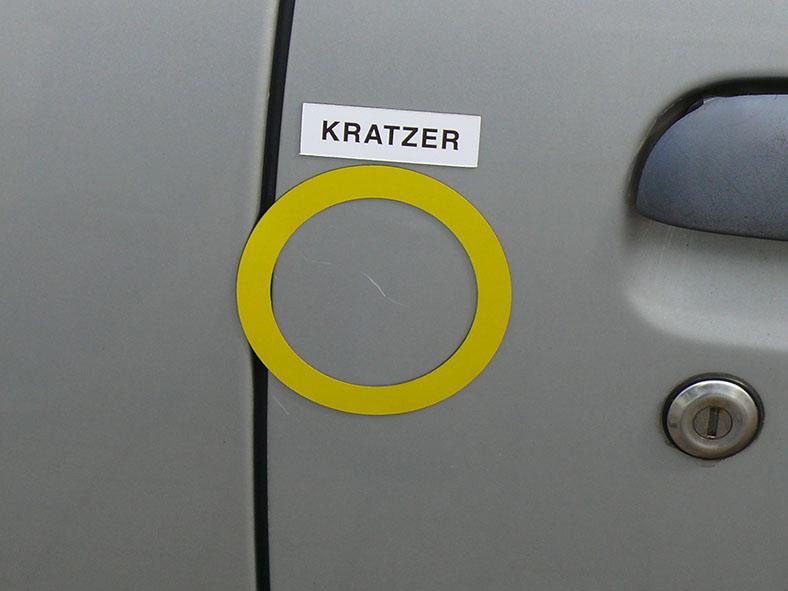 """Magnetlabels weiß, 50 mm, """"Sortiment KD"""""""
