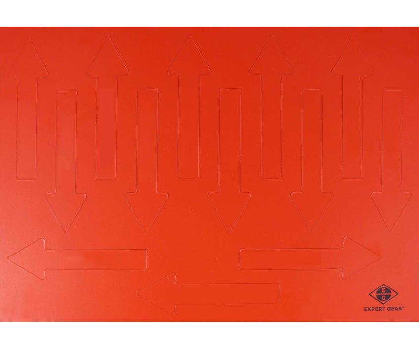 Magnetpfeile 75 mm, rot