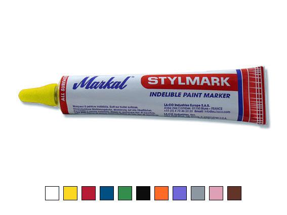 Stylmark Original – Tubenmarker, gelb