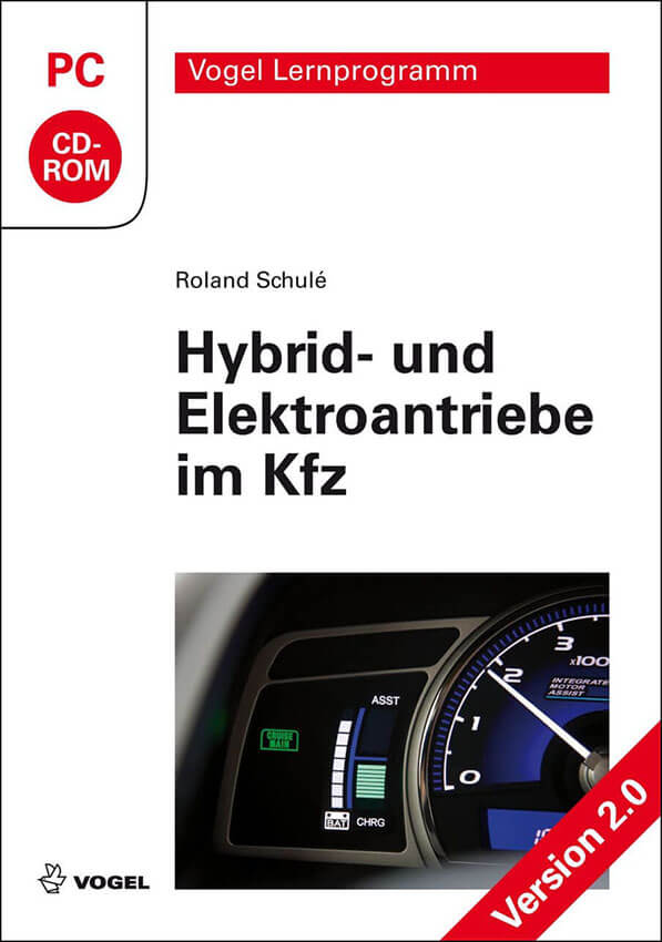 CD-ROM Hybrid- und Elektroantriebe im Kfz