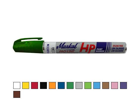 Paint-Riter + Oily Surface HP – Lackmarker für ölige Oberflächen, dunkelgrün