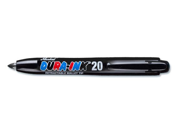 Dura-Ink Retractable 20, schwarz
