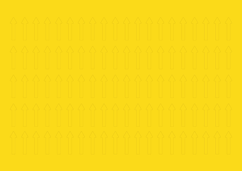 Magnetpfeile 20 mm, gelb