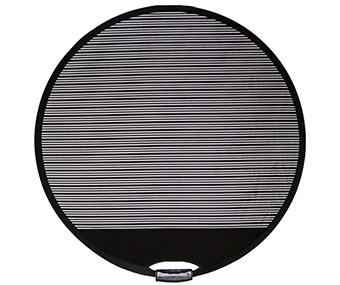 Dellenreflektor-rund-faltbar, mit Logofeld