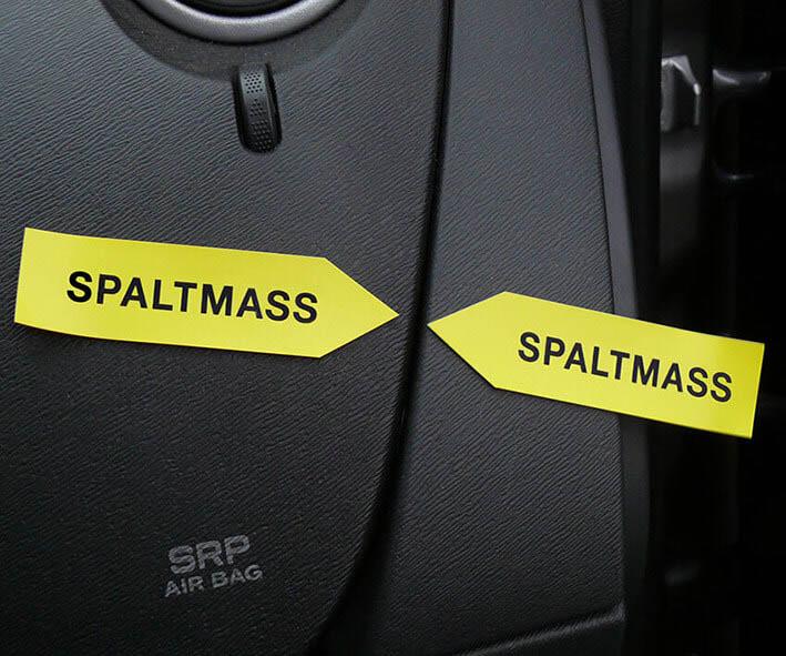 """Haftpfeile gelb/rot, 100 mm, """"Sortiment SP-ss"""""""