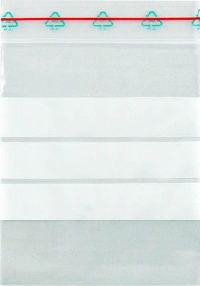 Probenbeutel (10 × 15 cm), mit Schriftfeld