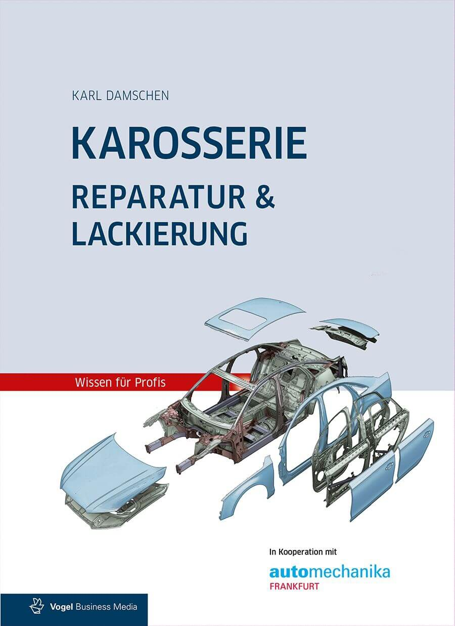 Fachbuch Karosserie Reparatur & Lackierung inkl. Unfallschaden-Abwicklung