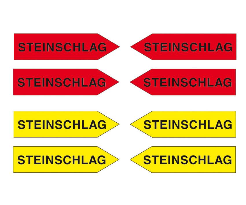 "Haftpfeile gelb/rot, 100 mm, ""Sortiment ST"""