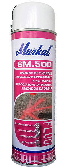 Markierungsspray, Markal - SM.500,  weiß