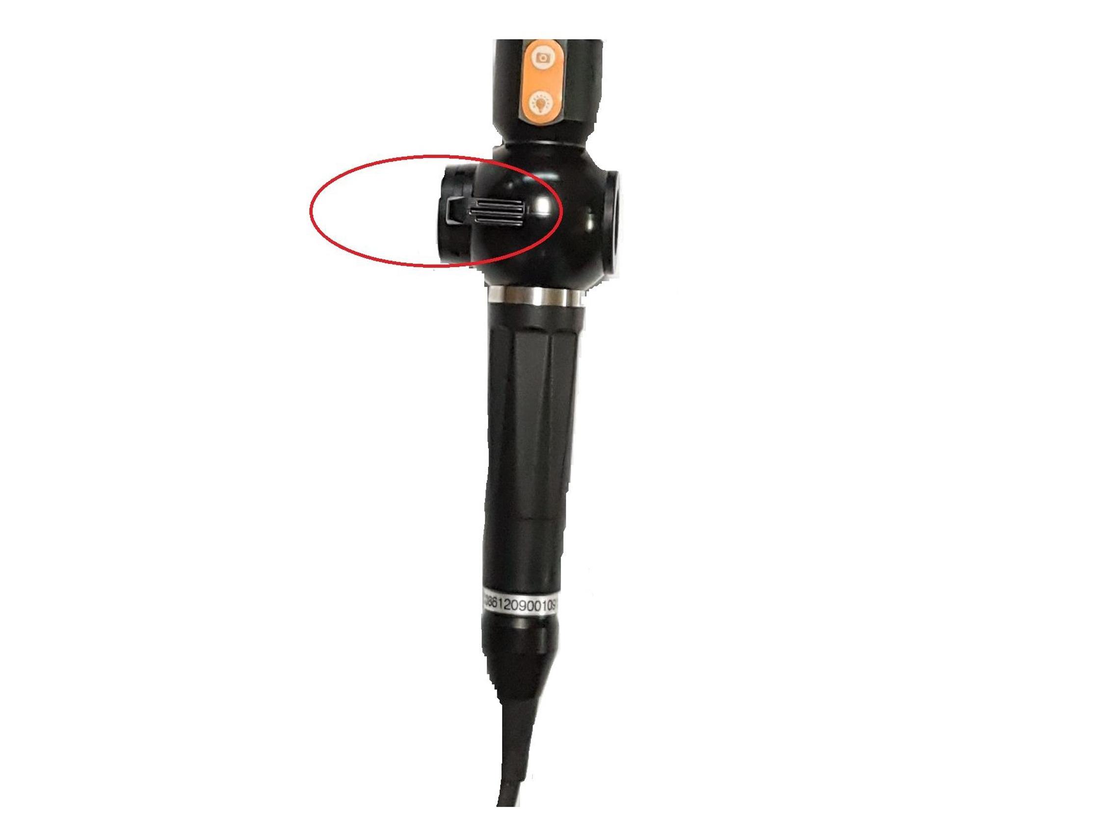 """4,3"""" Video-Endoskop, ∅ 4,0 mm, mit 360° beweglicher Sondenspitze"""