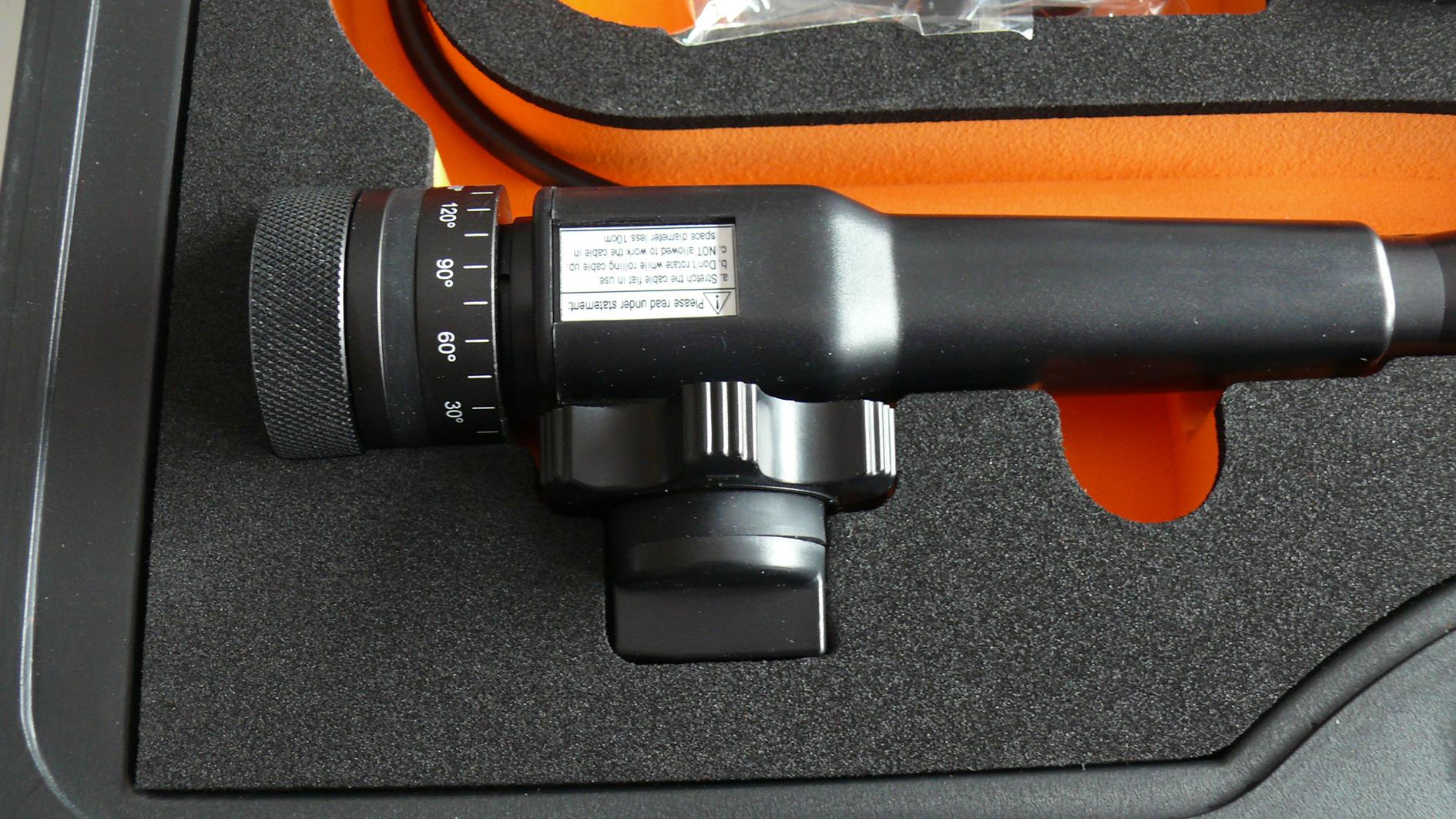 """3,5"""" Video-Endoskop TTS-S06, ∅ 5,8 mm, mit beweglicher Sondenspitze"""