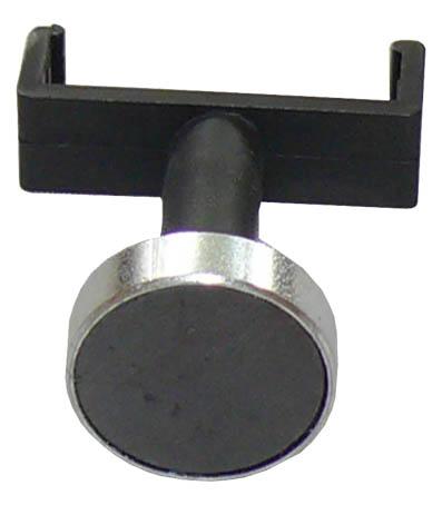 Halteklammer mit Magnetfuß für Geometerstäbe