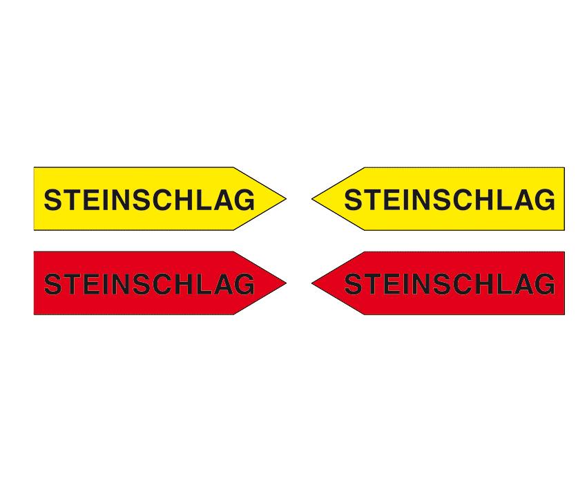 """Magnetpfeile 100 mm, gelb/rot, """"Sortiment ST"""""""