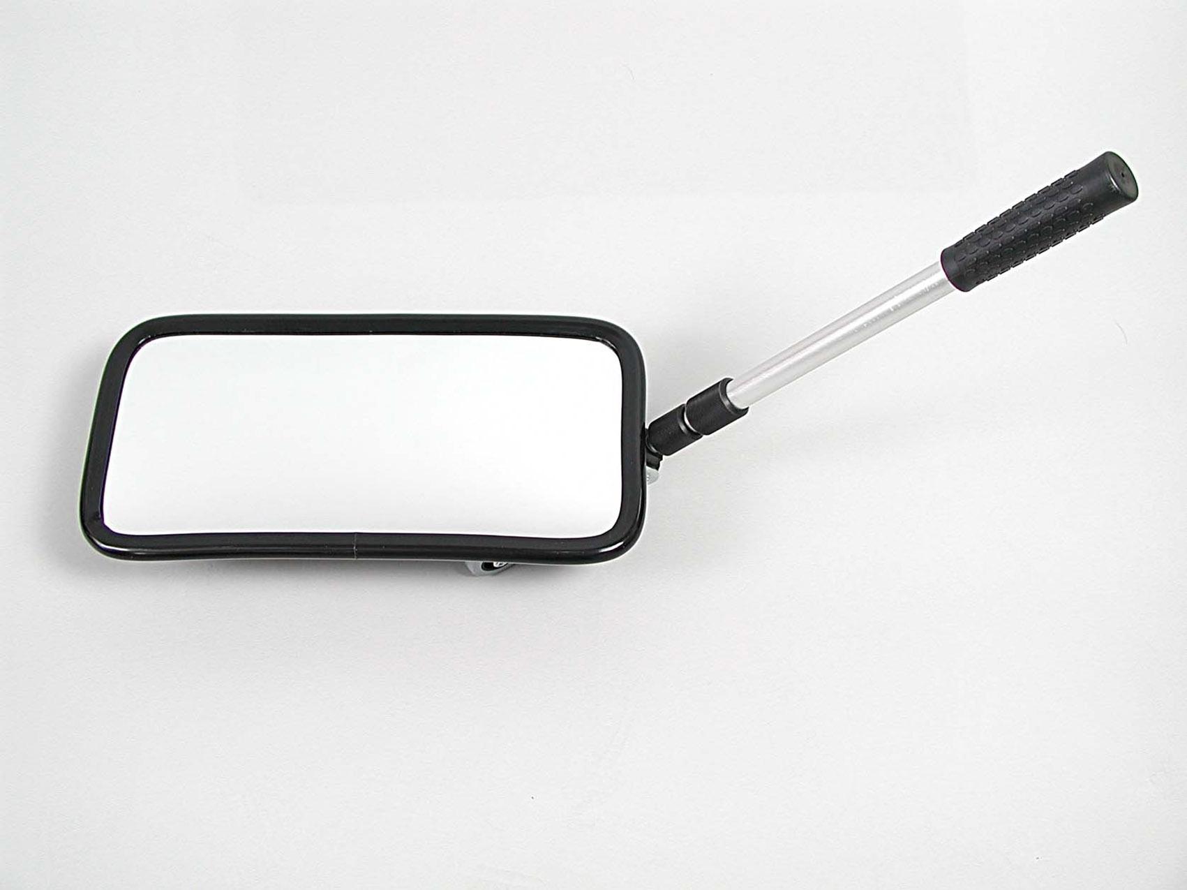 Inspektionsspiegel 20 × 40 cm, mit Rollenfüßen