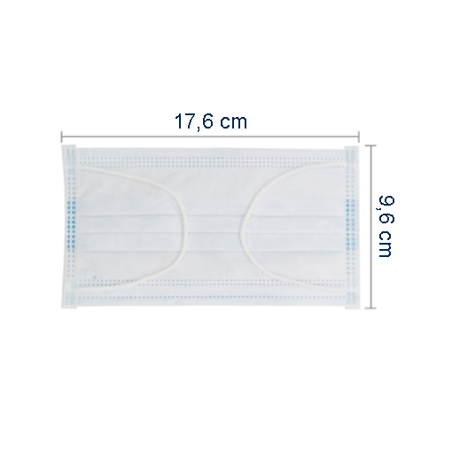 Mundschutz-Gesichtsmaske, 10er-Packung
